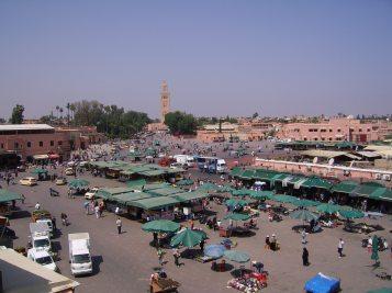 J8 25 place Jemaa El Fna