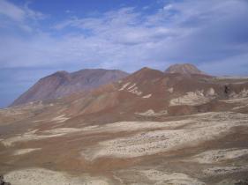 Vue sur le volcan Tope de Coroa 1979 m