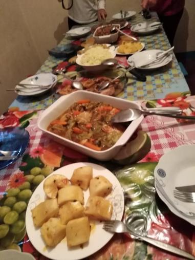 Repas chez Isolinda et Fatima Diminguinhas