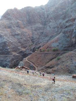 Descente vallée Ribeira Alta